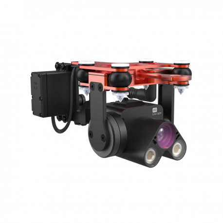 Módulo PL4: Liberación carga con Cámara de alta sensibilidad y gimbal 1 eje – impermeable