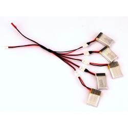 Multicargador para baterías de Hubsan H107L-C-CHD-D