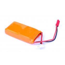 Batería LiPo de seguridad estrecha 850 2S 7,4V 25C-50C