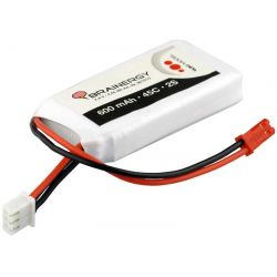 Batería LiPo /,4v 800mAh 45C conector BEC