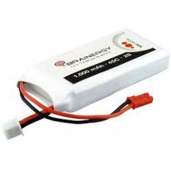 Batería LiPo 7,4v 1000mAh 45C conector BEC