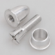 Adaptador portahelices 2mm sujecion por presion