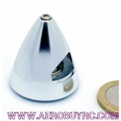 Portahelices cono aluminio Ø 30mm eje 2mm