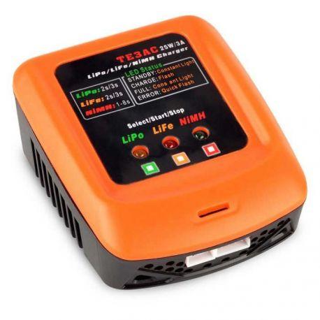 Cargador TE3AC 2s/3s LiPo/LiFe 1-8S NiMh Balanceador 220v