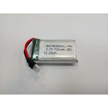 Batería para Syma X5C, X5SC, 3,7v 720mAh