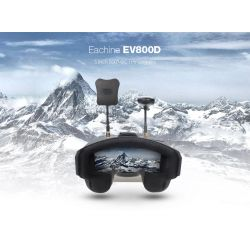 Gafas FPV EV800D Full HD, alta sensibilidad y alcance 40 canales