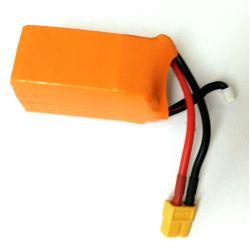 Batería LiPo 14,8v 1500mAh 4S 45-90C de seguridad para racing-carreras