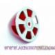 Cono Spinner Nylon con placa de fondo aluminio aligerado 57mm Red