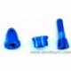 Adaptador hélices azul anodizado eje 3,17mm
