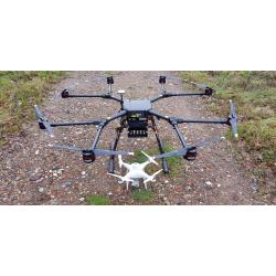 DJI WIND 8 drone industrial resistente al agua