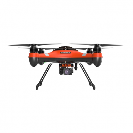 SplashDrone 3+ con cámara 4k gimbal de 1 eje y portacargas drone acuático de alta potencia