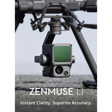 Zenmuse L1 – LIDAR + RGB